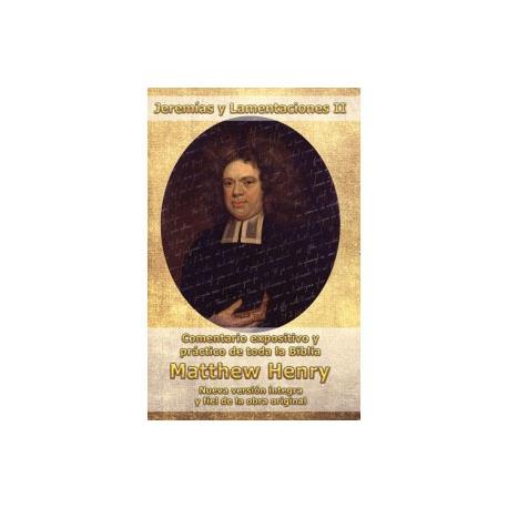 Jeremías y Lamentaricoes II Matthew Henry