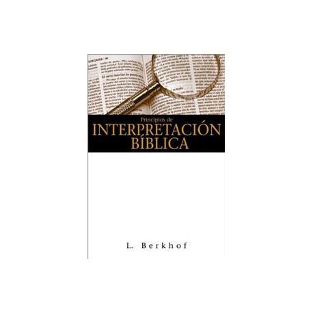 Principios de interpretación bíblica