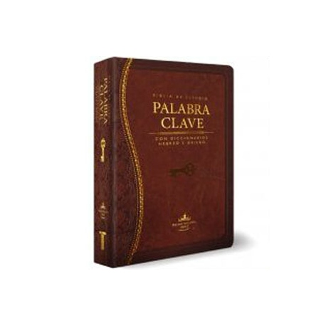 Biblia de estudio Palabra Clave RVR60