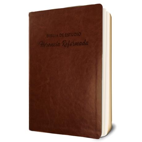Biblia de Estudio Herencia Reformada (Imitación Piel)