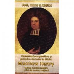 Joel, Amós y Abdías Matthew Henry