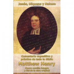 Jonás, Miqueas y Nahum Matthew Henry