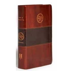 Biblia Peshitta Piel Lujo