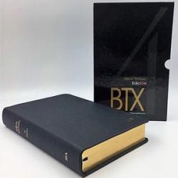 Biblia Textual IV Edición Lujo Piel Negro