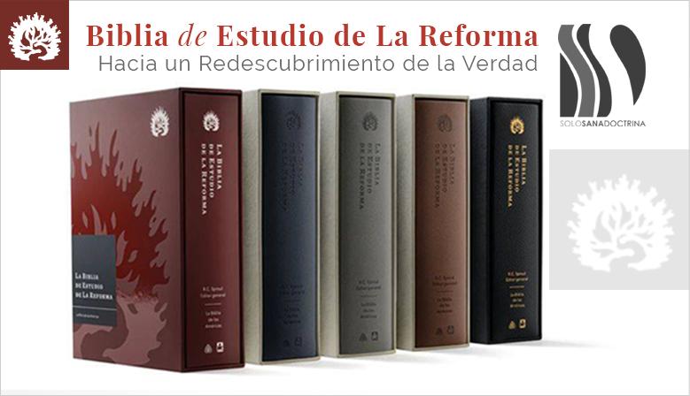 biblia de estudio de la reforma